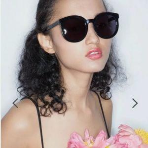 "Karen Walker Sunglasses ""Super Duper"" Black"